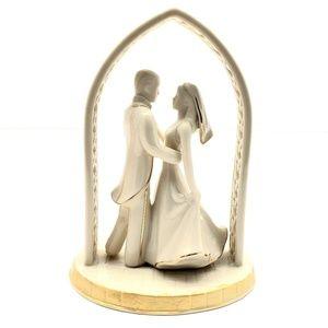 Lenox Wedding Promises Bride & Groom Cake Topper